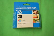 HP 28 Colour Ink Original  HP28 c8728ae Date 2009