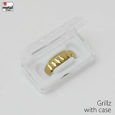 NEW GRILLZ Small Plain 14k Gold Plated Under Bottom Teeth * Made IN KOREA *S001G