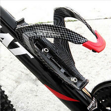 OFF-Road Mountain Bike bicycle Cycling Carbon fiber Water Bottles Holder Cage HU