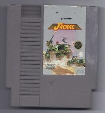Vintage Nintendo Jackal Video Game NES Cartriage VHTF Konami
