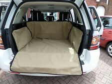 FREELANDER  2 Land Rover  60/40 SPLIT REAR SEAT Boot Liner Cover COLOUR BEIGE