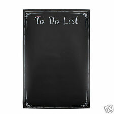 To Do List Chalkboard Wall Sticker Self Adhesive Chalk Memo Planner Black Board