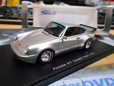 PORSCHE 911 Carrera Turbo 1974 silber 1. Turbo ! RAR spark Resin 1:43