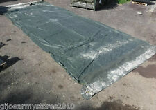Military Army 18x24 Tent Roof & Wall Section Syntex Canvas Sheet 4x10.6m MOD G1