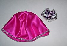 MATTEL BARBIE DOLL CE FUSHIA EMBELLISHED DRESS FASHION CLOTHES NEW FROM PACKAGE