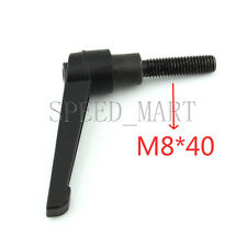 Machinery M8 x 40mm Threaded Knob Adjustable Handle Clamping Lever