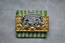 Pompiers honneur caractères saxe 25 ans guerres original avant 1933