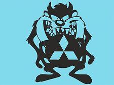 TAZ MITSUBISHI Logo Lato Adesivo Paraurti Lunotto Posteriore Adesivo Auto Finestra DYI t32