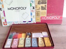 1964 Monopoly Large Red Box Board Game PARKER BROTHERS Made In The U.S.A.