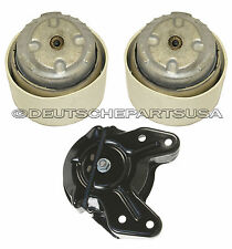 ENGINE MOTOR TRANSMISSION MOUNT MOUNTS for MERCEDES W211 V6 E CLASS 4MATIC SET 3