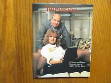 April 28, 1985 Detroit News Television Mag(ED ASNER/EILEEN BRENNAN/OFF THE RACK)