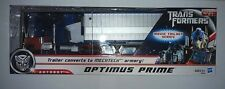 NEW Transformers Deluxe class OPTIMUS PRIME Trailer converts to MECHTECH armory
