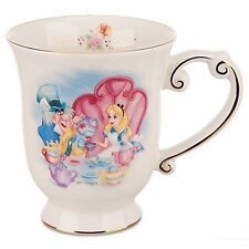 disney parks alice in wonderland tea coffee ceramic mug new
