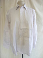 "Mens Shirt - Pierre Cardin, 15"" collar, pintuck, frill front, dress, party 1816"