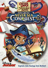 Captain Jake and the Neverland Pirates: The Great Never Sea Conquest, New DVDs