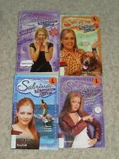 LOT OF 4 SABRINA THE TEENAGE WITCH BOOKS Millennium Madness & More!