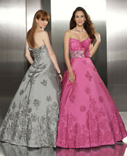 PAPARAZZI by MORI LEE 8710 ROSE Prom Evening Gown 4