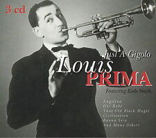 Louis Prima - Just a Gigolo - 3 CD Boxed Set - His classic songs - Keely Smith