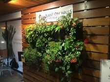 3 LIVING WALL PLANTERS, vertical gardening wallpots, florafelt, woolleypocket