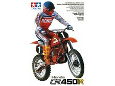 Tamiya Honda CR450R Motocross Rider Model Bike 1/12 Scale 14018