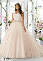 Plus Size New Lace White/Ivory Bridal Gown Wedding Dress 16 18 20 22 24 26 28++