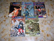 AMERICA'S BEST COMICS 1-5 SEQUENZA ALAN MOORE ED. MAGIC PRESS PERFETTI RARI!!!