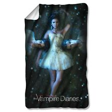 "The Vampire Diaries Why Choose Licensed Fleece Throw Blanket 30"" X 60"""