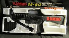 Vintage Rambo M-60 First Blood Part II Water Machine Gun Original Box