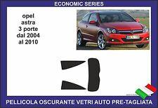 pellicole oscuranti vetri opel astra gtc 3 porte dal 2004 al 2011
