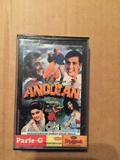 Andolan - Rare Bollywood Hindi Cassette - Tips 1st