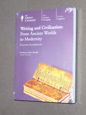 Teaching Co Great Courses DVDs       WRITING and CIVILIZATION      new sealed