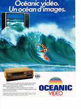 PUBLICITE ADVERTISING 054  1982  VHS   magnétoscope  OCEANIC VIDEO