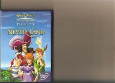DISNEYS PETER PAN RETURN TO NEVER LAND DVD DISNEY