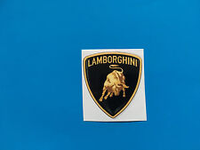 LAMBORGHINI 3D look sticker/decal x4