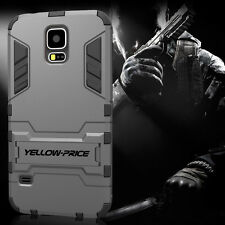 Hybrid Impact Armor Rugged Hard Case Cover Stand For Samsung Galaxy S5 S V AU