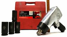 """CHICAGO PNEUMATIC 3/4"""" IMPACT WRENCH KIT #CP772HK w/ 4 SAE SOCKETS! 1,000 ft-lbs"""