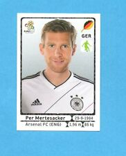 PANINI-EURO 2012-Figurina n.233- MERTESACKER - GERMANIA -NEW-WHITE BOARD