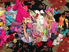 HUGE BARBIE DOLL LOT FASHIONS OUTFITS CLOTHES 90'S ~