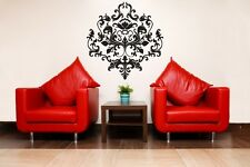 SCROLL FLEUR DE LIS Damask Backsplash Wall Decal Sticker Room Decor Home Kitchen