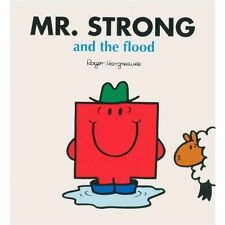 MR. STRONG AND THE FLOOD * ROGER HARGREAVES * NEW PAPERBACK * LARGE FORMAT