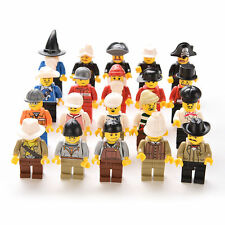 20 NEW LEGO MINIFIG PEOPLE LOT random grab bag of minifigure guys city town set