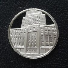 Franklin Mint Sterling Silver Mini-Ingot: 1931 Empire State Building