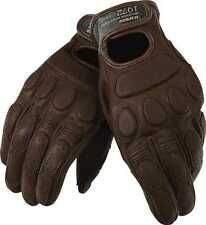 New Dainese Blackjack Adult Goatskin Leather Gloves, Dark Brown, Small/SM