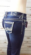 Amethyst Series 31 Slim boot cut Short & Sexy distressed Jeans Size13 Short