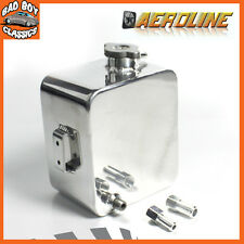 Polished Alloy Aluminium Car Water Expansion Overflow Tank 2.5L For KIT CAR