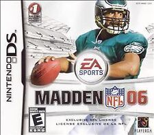 BRAND NEW SEALED DS FOOTBALL GAME -- Madden NFL 06 (Nintendo DS, 2005)