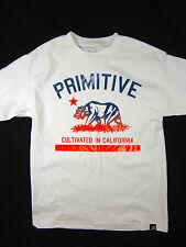 Primitive Cali cultivated bear short sleeve t shirt men's white size MEDIUM