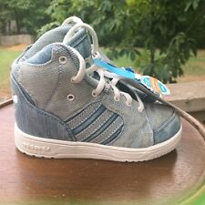 BABY SIZES 6.5K Adidas JS Jeremy Scott DENIM INSTINCT HI DENI M18989 authentic