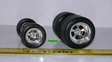 Muscle Machines Parts 1:18 Wheels & Tires  ONLY For Model Car Customizer Builder