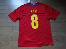 Spain #8 Xavi 100% Original Soccer Jersey Shirt L 2012 Home BNWT NEW